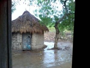 Village Rainstorm