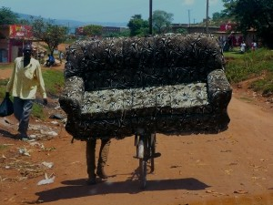 Furniture Delivery, Uganda Style