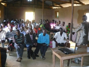 One of the Church-Planting conferences on Buvuma Island
