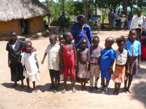 The children of Mella near Tororo