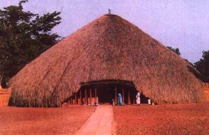 Burial place of Baganda Kabakas (kings)