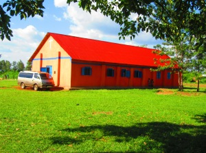 The church facility where we are holding the Tororo Conference - Asignet Pentecostal Church. One of the prettiest sites I have been invited to.