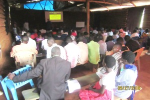 104+ in attendance at the Sept. 2016 Lake Victoria Bible Institute
