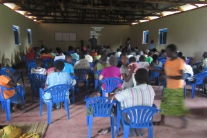 The Tororo Bible Institute on the second day.